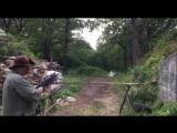 Гранатомет м203 и Пирострайк (рикошет от дерева)