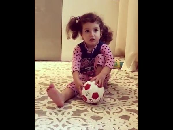 Дочь Кети Топурии предсказала кто выиграет чемпионат мира по футболу