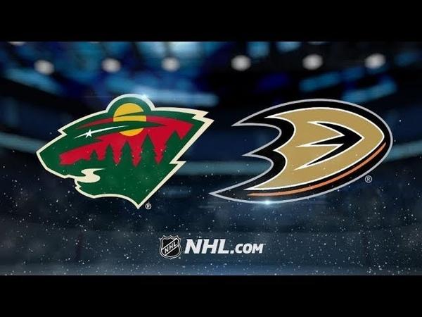 Миннесота-Анахайм. НХЛ ПРОГНОЗ НА МАТЧAnaheim Ducks @ Minnesota Wild Match bet