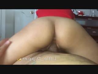 Mexican Teen Nice Booty Bouncing on Dick Little_Dipper