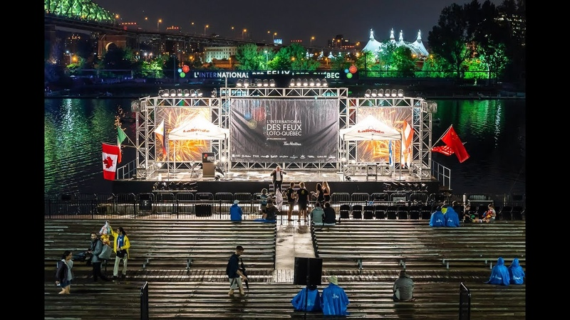 [4k] Montreal Fireworks 2018 - Awards Ceremony - August 8