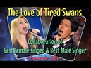 Dimash Lara Fabian The Love of Tired Swans fanmade collaboration