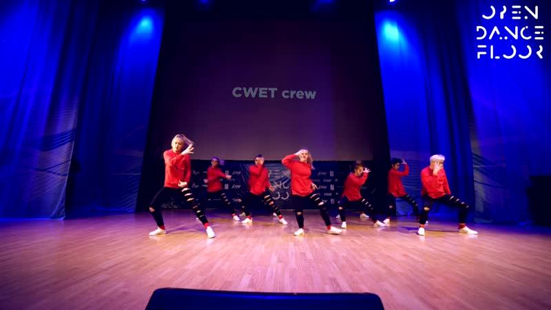 OPEN DANCE FLOOR   CWET CREW   BEST DANCE SHOW BEGINNERS