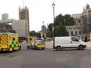 Автомобиль врезался в ограду парламента Великобритании - Вести 24