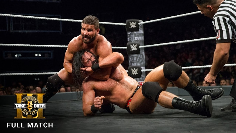Roode vs McIntyre NXT Title Match NXT TakeOver Brooklyn III WWE Network Exclusive