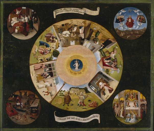 История одного шедевра. Триптих «Семь смертных грехов и четыре последние вещи», Иероним Босх