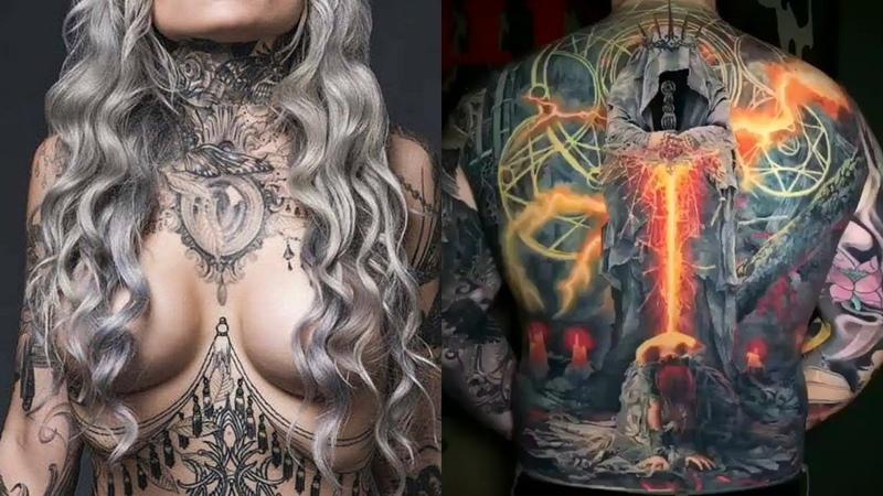 Best tattoos in the world HD 2019 - Amazing Tattoo Design Ideas ✍️🤘
