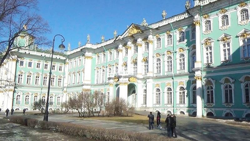 📅2019, 21 Марта ⛅️6°C. 👑Эрмитаж. 🎎Кунсткамера. 🐯Зоологический Музей. ⛵Нева. ⚓Санкт-Петербург.
