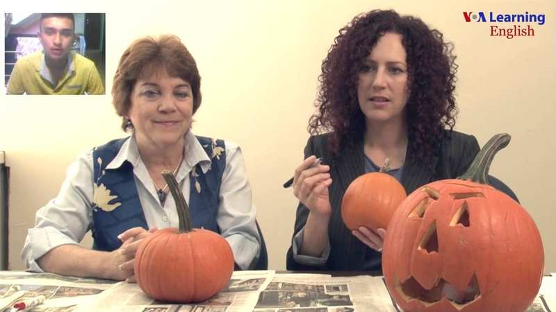 Talk2US: Anna Mateo and Dr. Jill Robbins Carve a Pumpkin