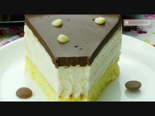 """Оригинальный рецепт! Торт """"Птичье молоко"""" - самый нежный и изысканный десерт."""