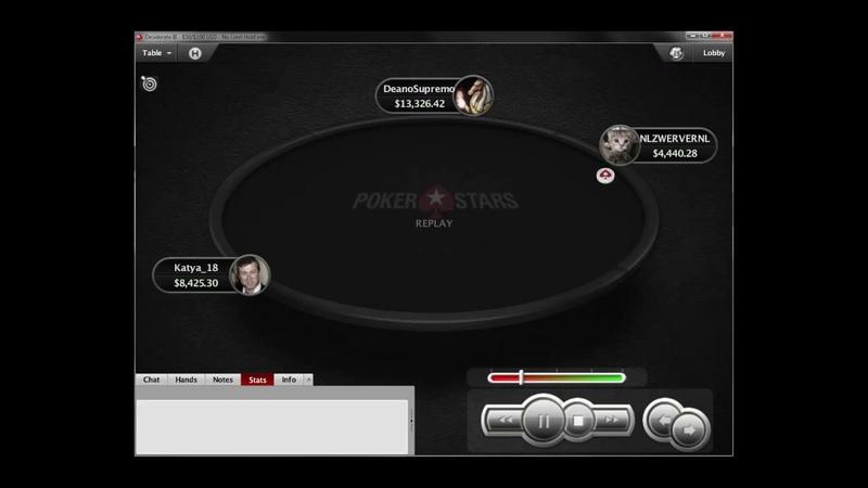 AhKs vs AcJc $ 16 850 Katya_18 vs DeanoSupremo