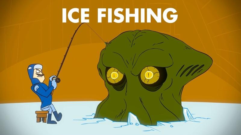 Ice Fishing : animated music video : MrWeebl