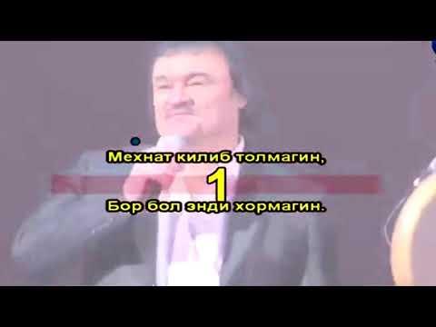 Rustam Goipov - Davraga tush | Рустам Гоипов - Даврага туш (Karaoke version)