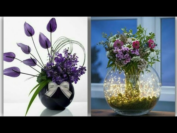 New 💓 heart touching Flower Arrangement simple and Beautiful Flower Arrangement