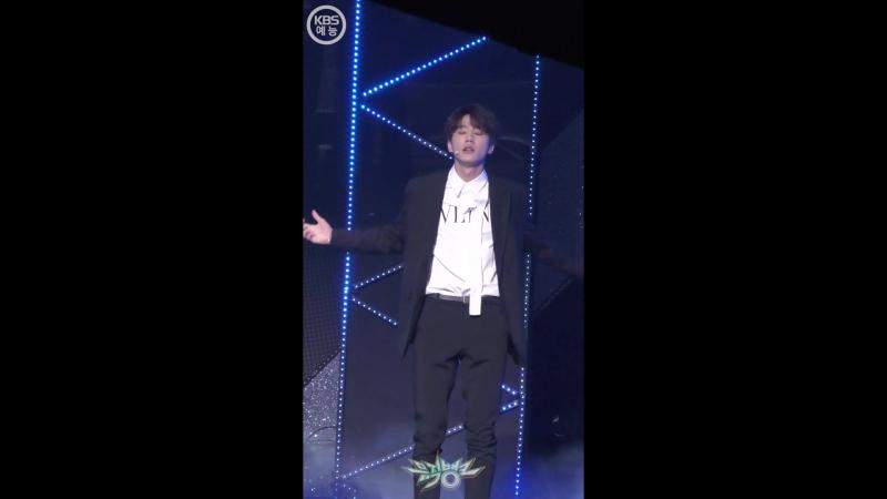 13.04.2018 UNB Jun's focus - Sense/feeling @ official cam Music Bank