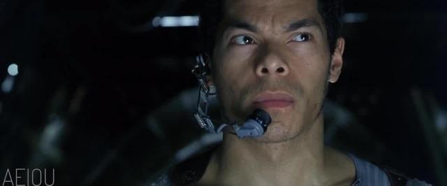 Neo notices something strange in the matrix