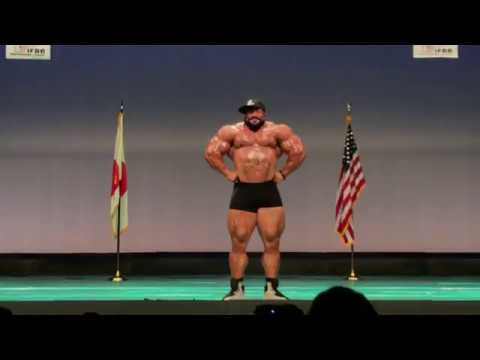 Roelly The Beast Winklaar July 29th, 2018 Japan Guest Posing @ CJBBF