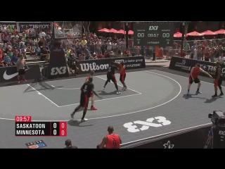 FIBA 3x3 World Tour 2018: Saskatoon - 1/4 FINAL - Saskatoon VS. Minnesota 3BALL (22-07-2018)