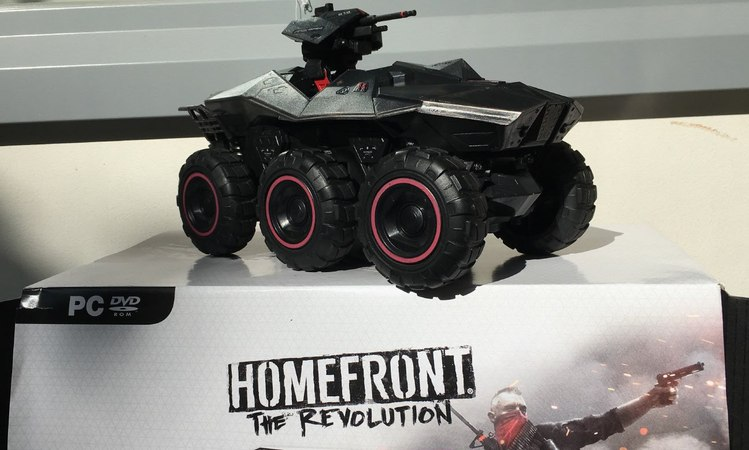 UNBOXING Homefront: The Revolution RC CAR Collector's Edition Goliath