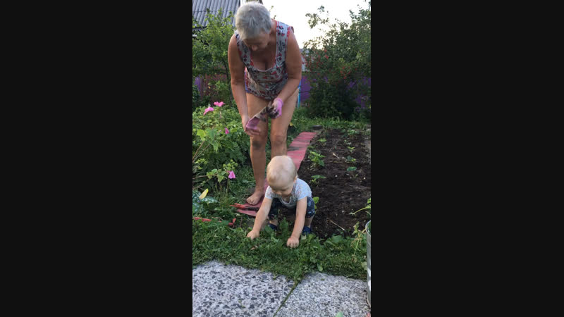 Помощница бабушки 2