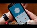 CK11S Blood Pressure Heart Rate Monitor Wrist Watch