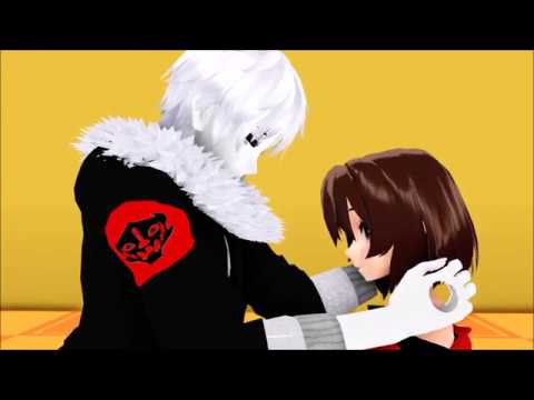 [mmd x undertale] echotale gaster!sans x frisk *requested*