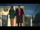 Trump & Melania return to USA after whirlwind tour