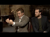 OUTLAW KING interviews - Chris Pine and Aaron Taylor-Johnson