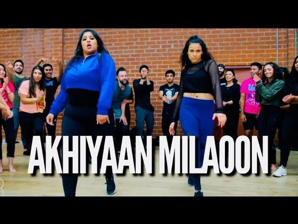 AKHIYAAN MILAOON - CHAYA KUMAR AND SHIVANI BHAGWAN   MADHURI DIXIT BOLLYWOOD DANCE