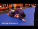 Girls Grappling 206 No-Gi Purple Pants Returns Remastered Classic • Women Wrest