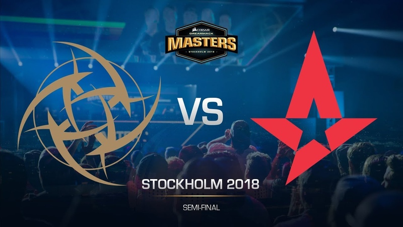 NiP vs Astralis - DH MASTERS Stockholm - Semi-final - map1 - de_mirage [sl4m, Strike]
