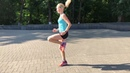 Специальные беговые упражнения СБУ Бег с высоким подниманием бедра mov