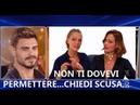 """GF Vip comincia subito Monte Silvia Provvedi contro Francesco Monte Chiedi scusa"""""""