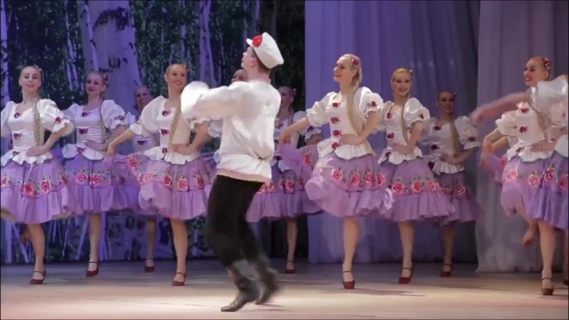 Красноярский Академический Ансамбль танца Сибири им Годенко