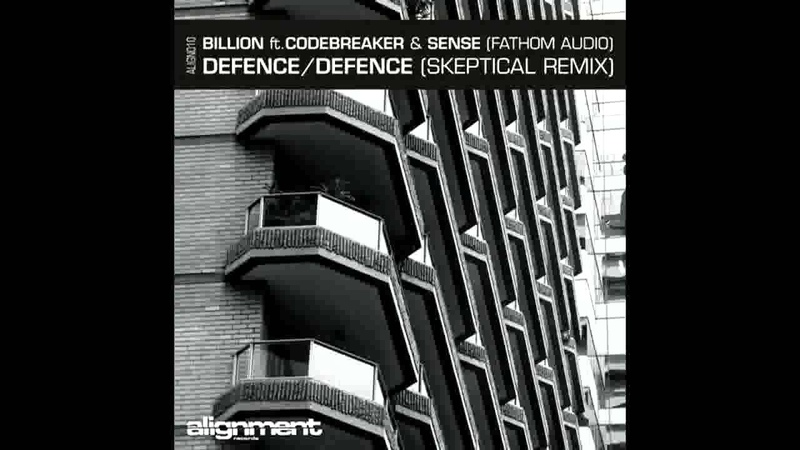 Billion Codebreaker Sense Fathom Audio Defence Skeptical Remix