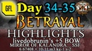 Path of Exile 3.5: BETRAYAL DAY 34-35 Highlights MIRROR OF KALANDRA SSF, 5 BOW AND MORE...
