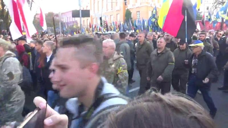 Марш УПА от Киева до Кавказа 14.10.2018