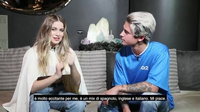 WarnerSquad – Sofia Reyes interviewed by Fede (Benji Fede)