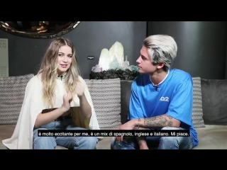 #WarnerSquad – Sofia Reyes interviewed by Fede (Benji  Fede)