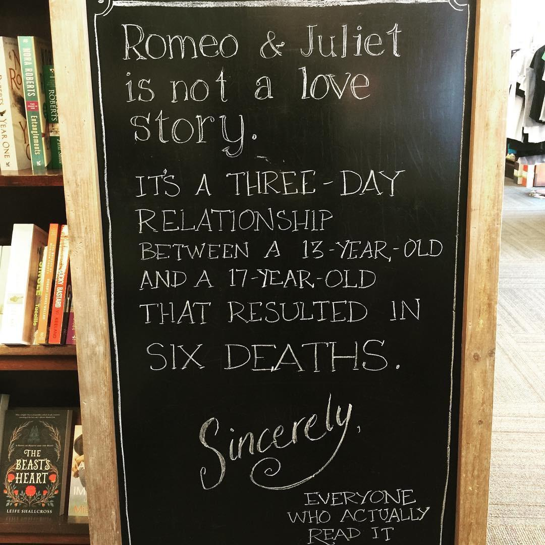 Развенчание романтичного мифа