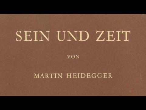 Heidegger: El ser y el tiempo, pt. 1/15