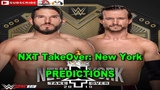 WWE NXT TakeOver New York NXT Championship Johnny Gargano vs. Adam Cole Predictions WWE 2K19