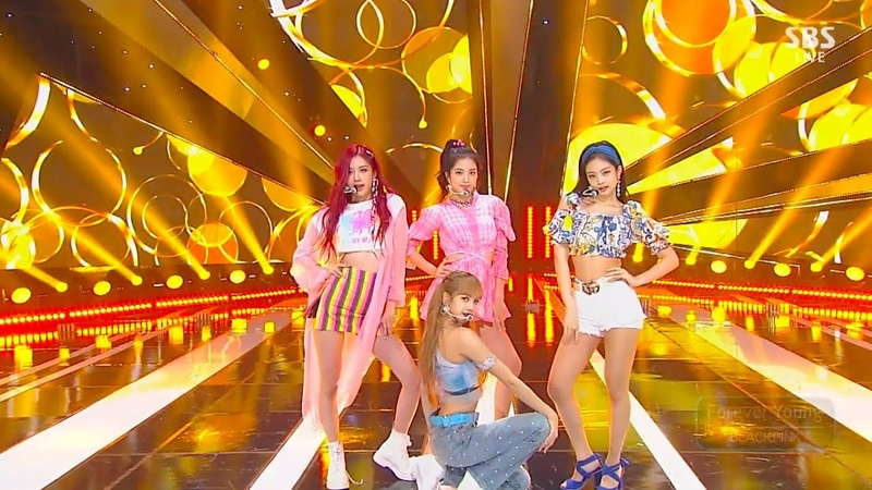 [PERF] BLACKPINK - FOREVER YOUNG @SBS Inkigayo (15.07.18).