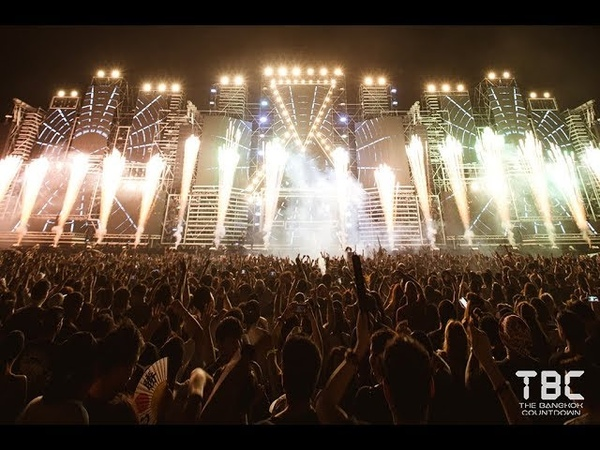 DJ FEEL Live Set | The Bangkok Countdown 2018