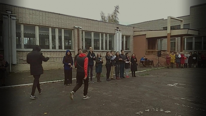 Трогательные моменты начала учебного года 24 школа г. Владимира