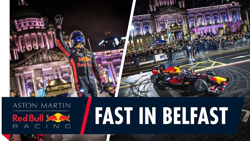 David Coulthard and the RB8 bring the F1 show to Belfast!