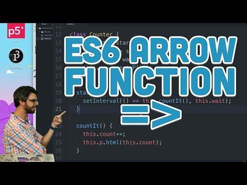 16.3 ES6 Arrow Function - Topics of JavaScriptES6