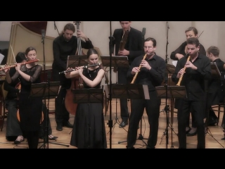 J. F. Fasch - Concerto for violin, two flutes, two oboes, basoon, strings & b.c. D-dur, FWV L:D8 - Croatian Baroque Ensemble