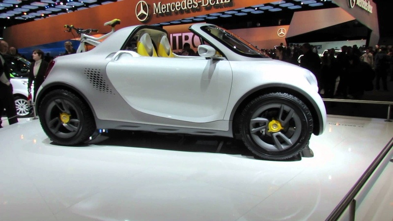 2012 NAIAS Smart For US Concept Car