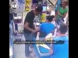 Неудачная попытка ограбления магазина